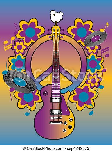 Woodstock Tribute I - csp4249575