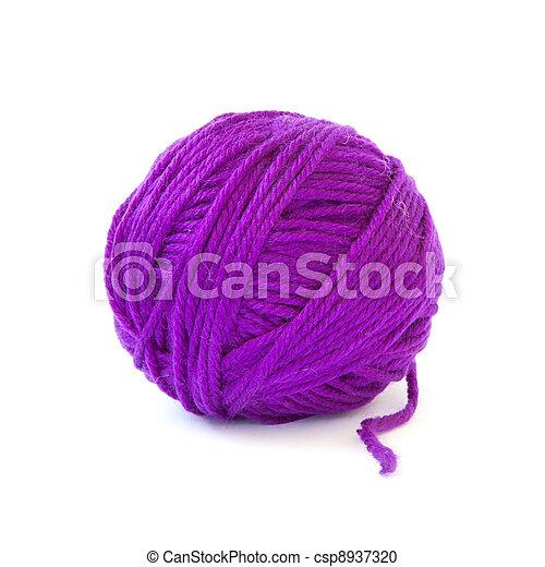 Woolen ball - csp8937320