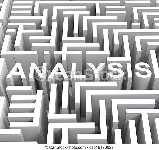 woord, analyse, onderzoek, onderzoek, of, optredens - csp16178027