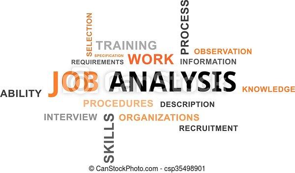 Job Analysis Vector Clip Art Illustrations  Job Analysis