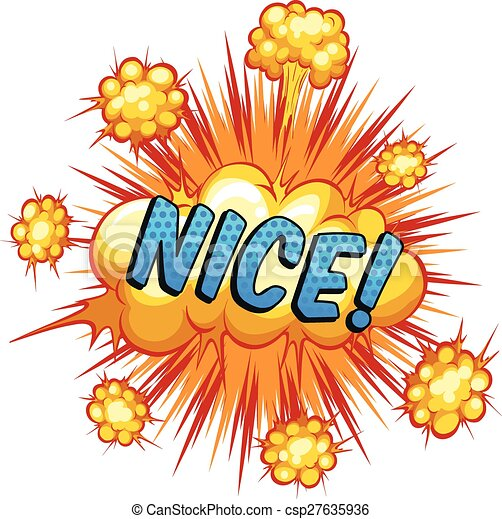 word explosion word nice with cloud explosion in the back bomb clip art images bomb clip art free