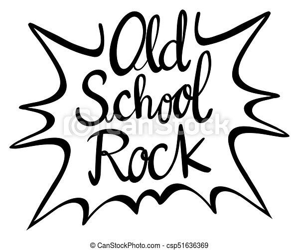 word expression for old school rock illustration clip art vector rh canstockphoto com clipart word online clip art wording