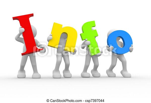 "Word ""info"" - csp7397044"