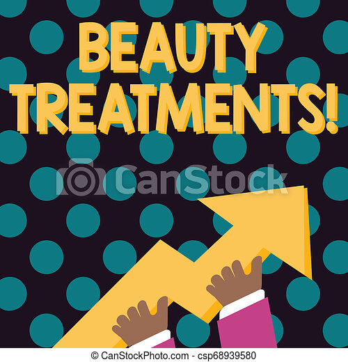 word form beauty Word writing text beauty treatments. business concept for use of