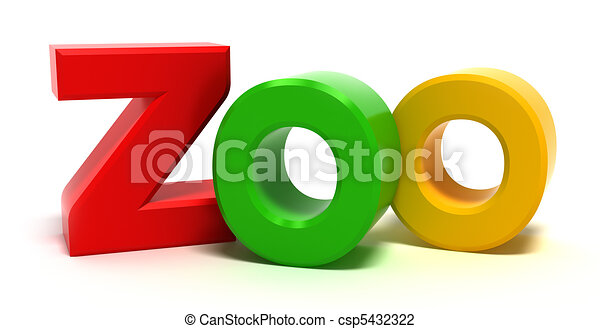 Word xoo with colourful 3D letters - csp5432322