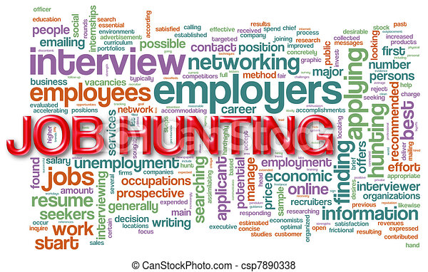 wordcloud of job hunting stock illustration csp7890338 - Learn about the Top Paying Jobs in Malaysia