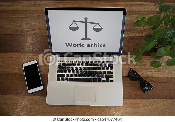 Work ethics Justice Law Order Legal working Professional - csp47877464