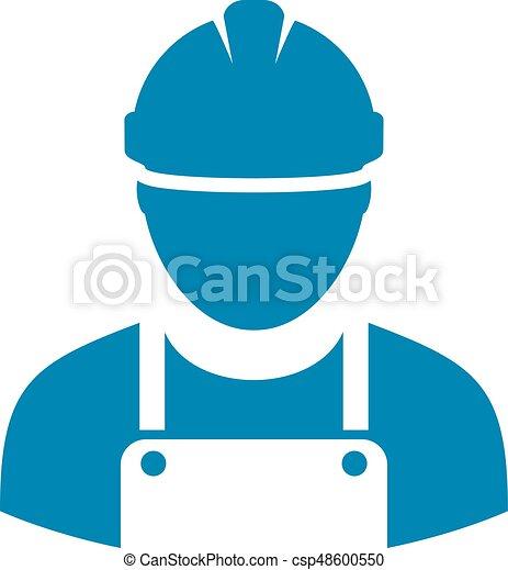 Work man icon - csp48600550