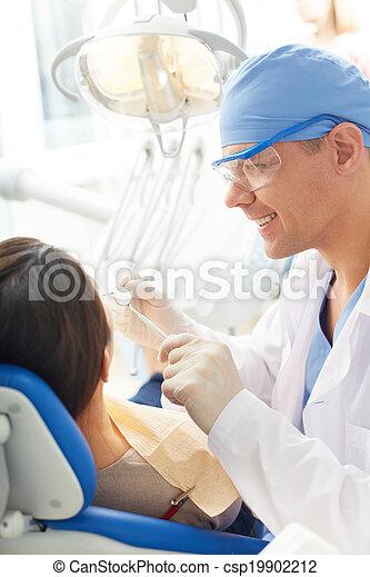 Work of dentist - csp19902212