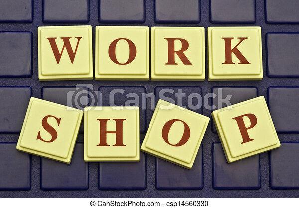 Work Shop! - csp14560330