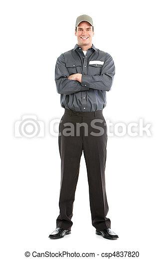 Trabajador. - csp4837820