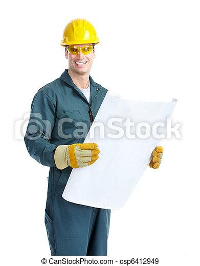 Trabajador. - csp6412949
