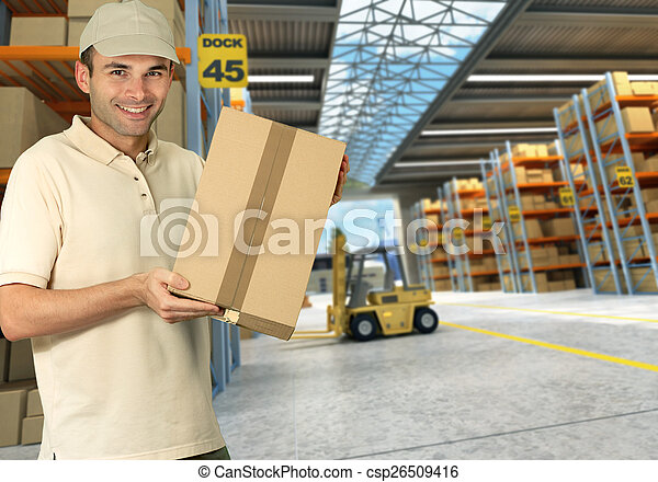 Worker on Distribution warehouse - csp26509416