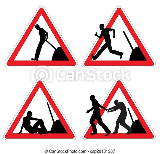 Worker taking brake - csp20131387