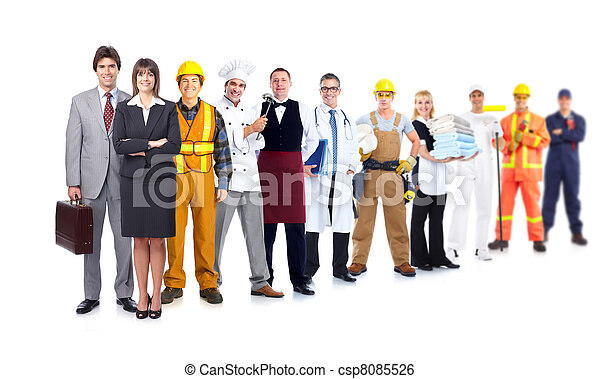 workers., βιομηχανικός , σύνολο  - csp8085526