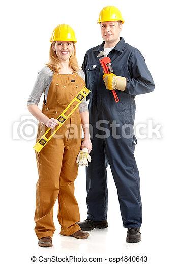 Trabajadores. - csp4840643