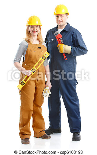 Trabajadores. - csp6108193