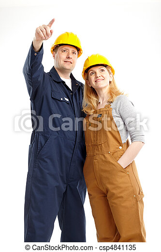 Trabajadores. - csp4841135