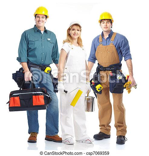Trabajadores. - csp7069359