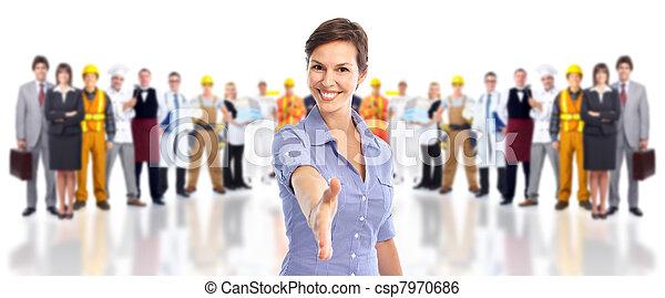 workers., industrial, grupo - csp7970686
