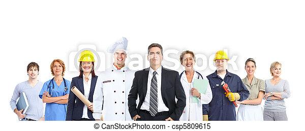 workers people - csp5809615