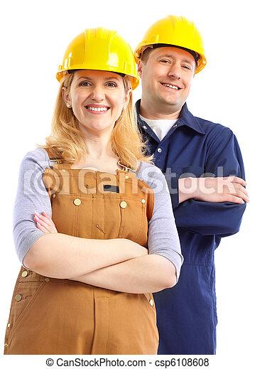 Trabajadores. - csp6108608