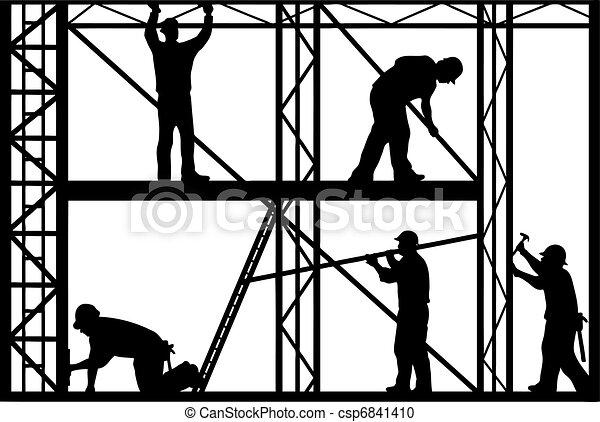 Workers - csp6841410