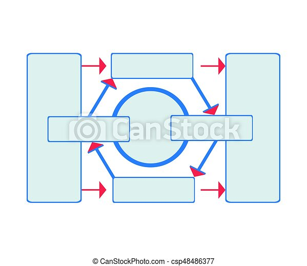 Workflow diagram working algorithm or structure of organization workflow diagram working algorithm or structure of organization vector illustration isolated on ccuart Image collections