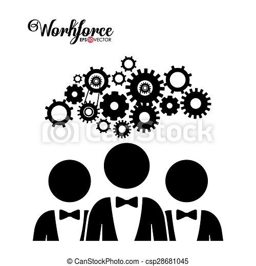 workforce, projektować - csp28681045
