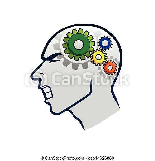 working brain gear - csp44626860