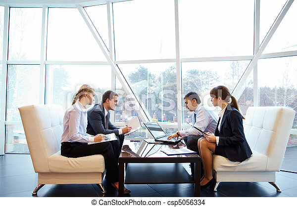 Working in office - csp5056334