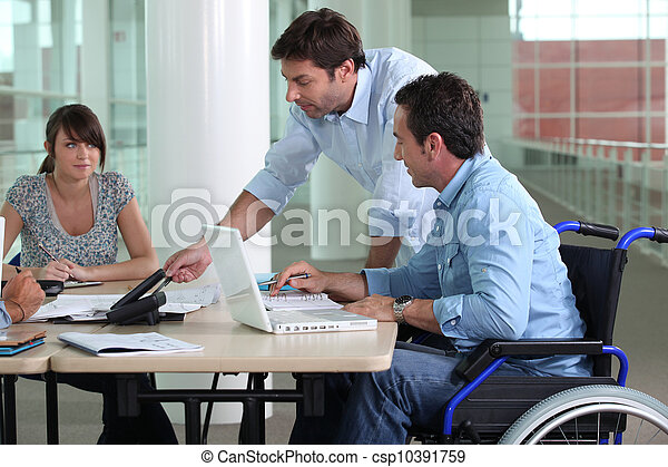 Working in the office - csp10391759