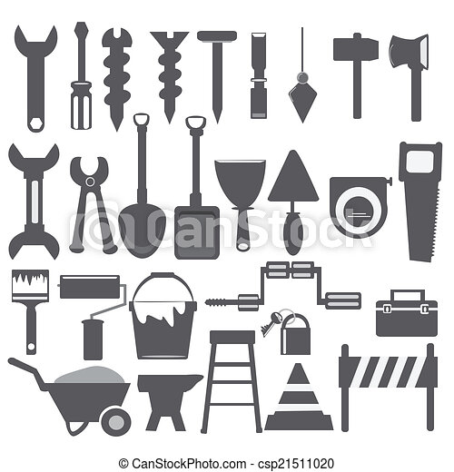 Working tools icon - csp21511020