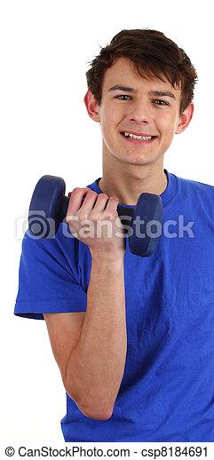 workout guy - csp8184691