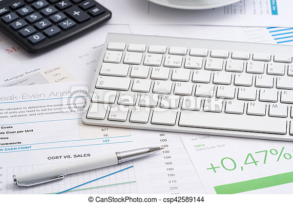 Workplace business papers - csp42589144