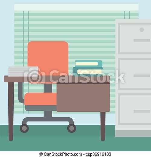 workplace., fundo, escritório - csp36916103