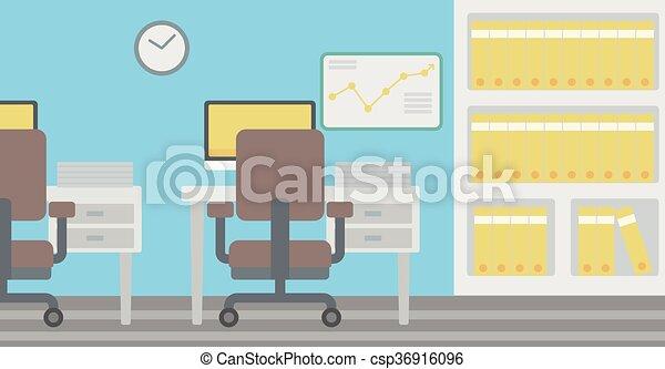 workplace., fundo, escritório - csp36916096