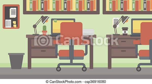 workplace., fundo, escritório - csp36916080