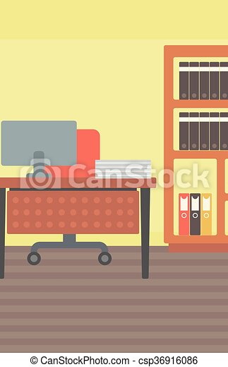 workplace., fundo, escritório - csp36916086