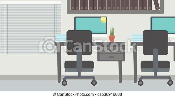 workplace., fundo, escritório - csp36916088