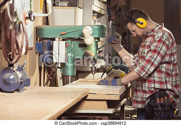 Workshop of true master - csp38894912