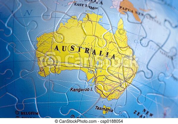 World 3d puzzle australia australia map puzzle world 3d puzzle australia csp0188054 gumiabroncs Images