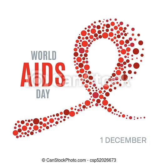 World Aids Day Poster World Aids Day Awareness Poster Red Ribbon