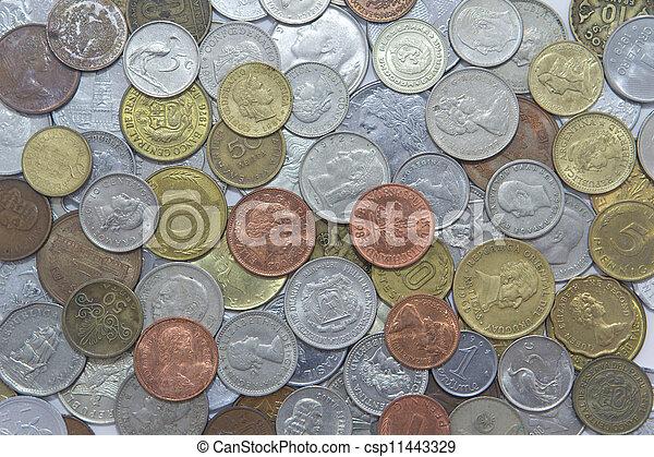 World Coins - csp11443329