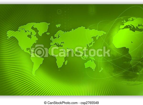 World concept background - csp2765549