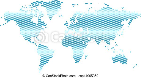 World continents map dots style illustration world vector world continents map dots style illustration publicscrutiny Gallery