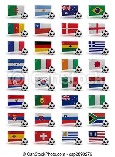 World Cup 2010 - csp2890276