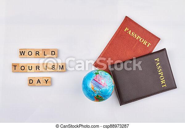 World day of tourism. - csp88973287