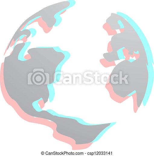 World effect - csp12033141