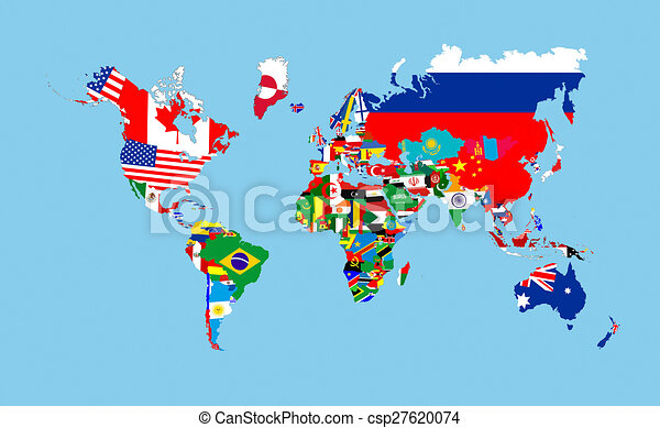 Map Of The World Flags.World Flags Map